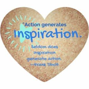Action Generates Inspiration