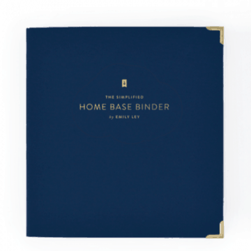 Home Base Binder | Emily Ley Simplified