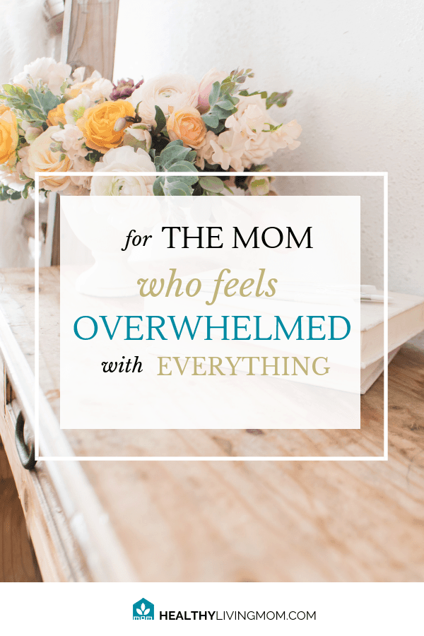 Panic. Fear. FOMO. Exhaustion. Overwhelmed. Sweet mom, these are not what God has for you today. He desires to give you good things to help you be the best mom to your kids. He has a plan, do you? #overwhelmedmom #simplified #powersheets