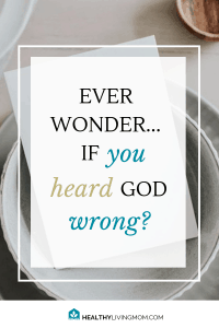 "You feel like God is leading you to do something—then it doesn't go right. You don't have to question ""Did I hear God wrong?""—if you do this one thing. #didiheargodwrong #hearinggodsvoice"
