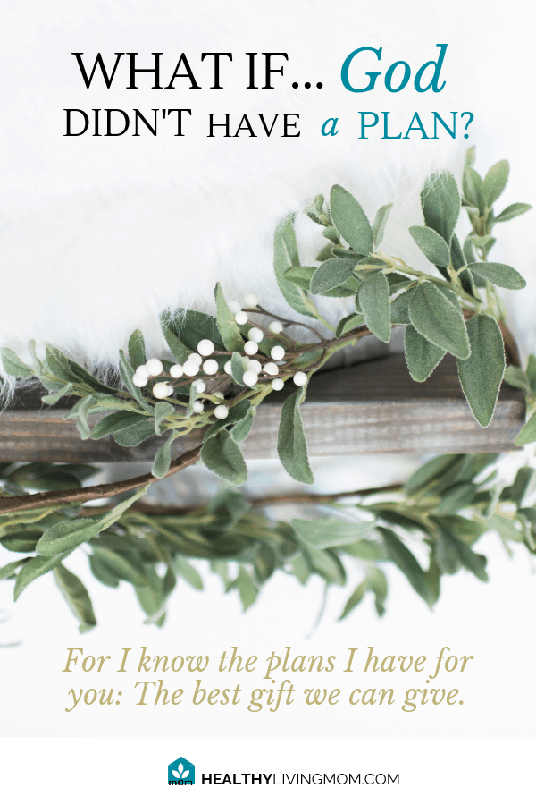 What if God didn't have a plan? Let that sink in a little. As a mom, that thought became very convicting to me. If God has a plan, shouldn't I? Shouldn't you? #ihaveaplanforyou #momwithaplan