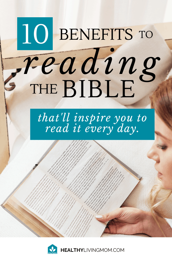 What if instead of feeling like you should read your bible every day—you actually wanted to read it. Here's 10 surprising benefits to reading the bible daily that'll help you be a better mom.