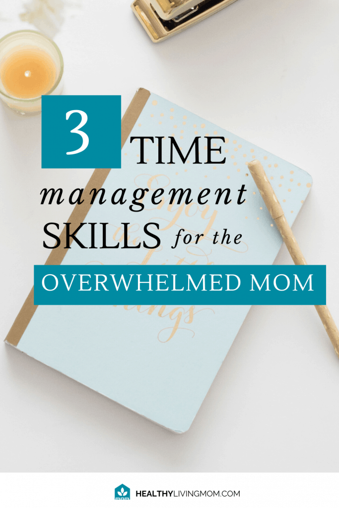 What if you had more time in your day—simply because you changed your time management strategy? What if it was easy to do? Here's 3 simple time management skills that gave me more peace and helped me to get more done.