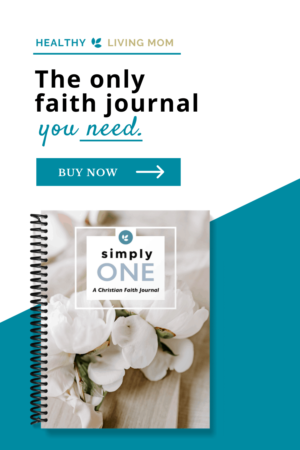 simplyOne Christian Faith Journal